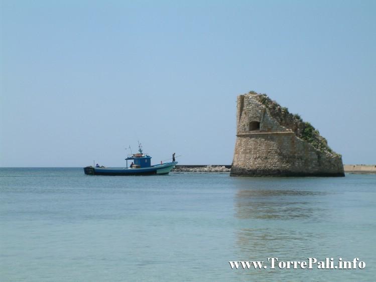 Torre di Torre pali nel Mare